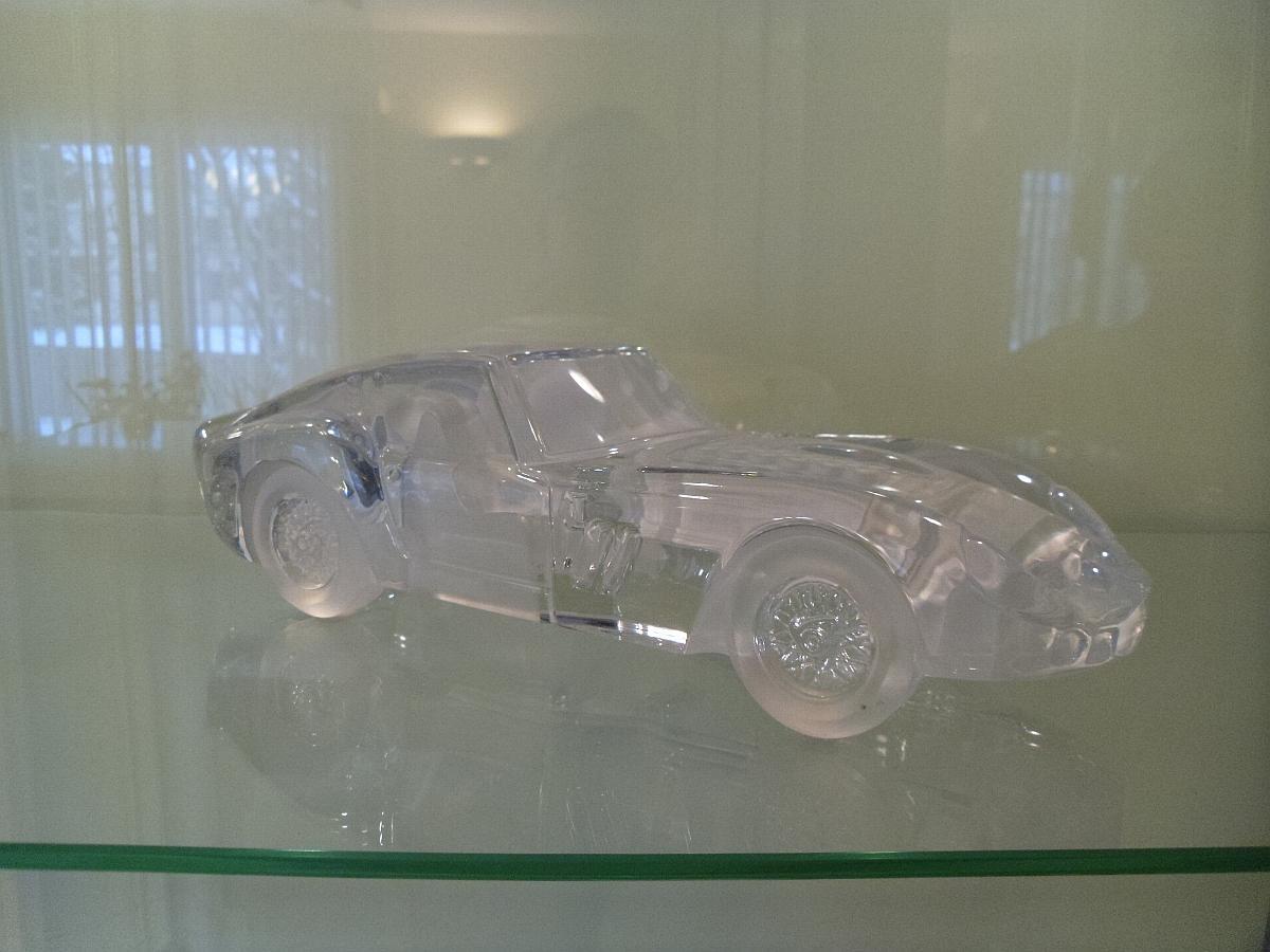 Ferrari 250 GTO by Daum Crystal, France - 1:14 Scale
