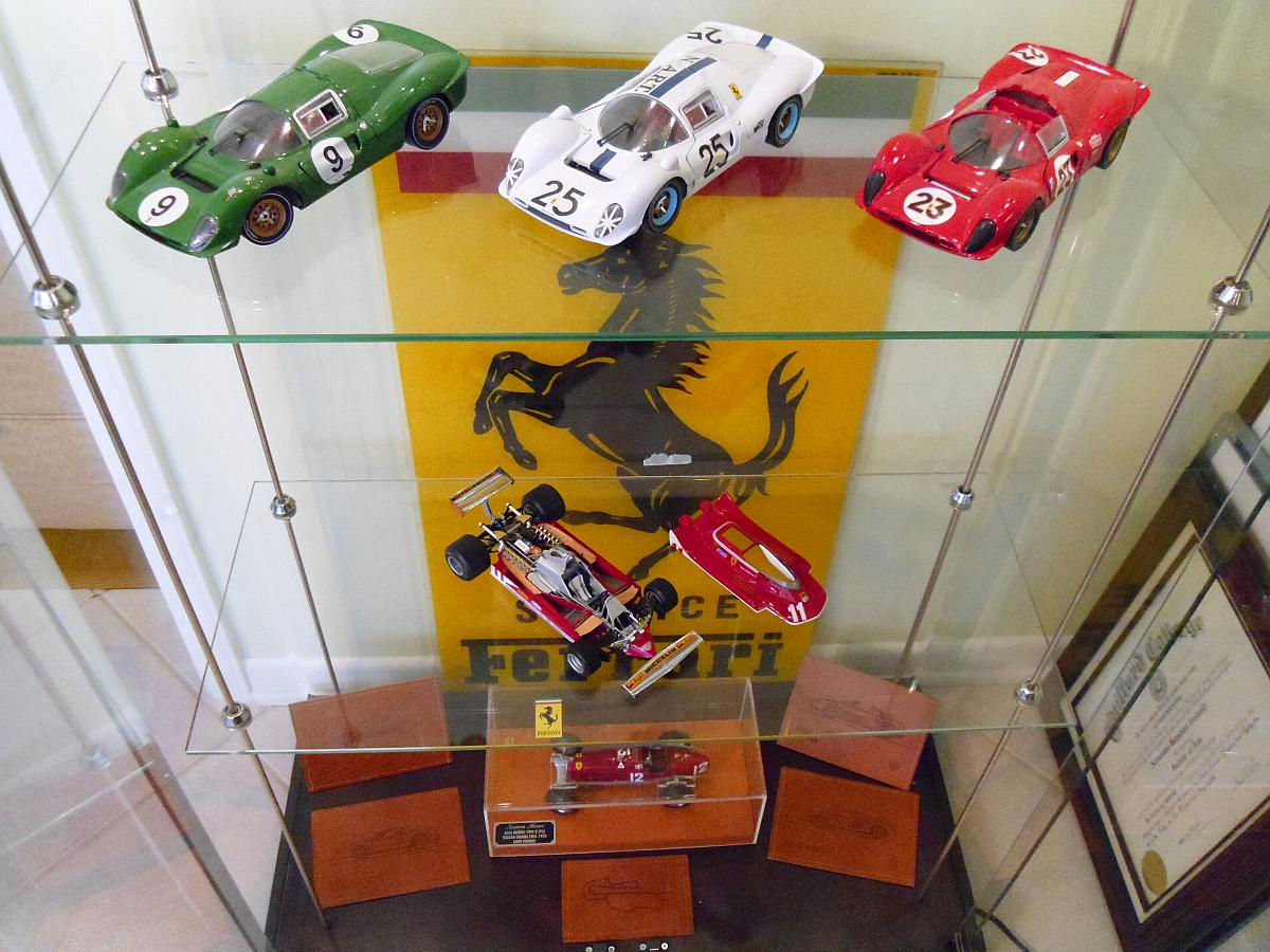 P3/4 Tricolore by Jouef - Jody Scheckter's 312 by Exoto - Alfa Romeo by Revival